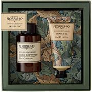 Refined Gentleman Hair & Body Wash 100ml and Shave Gel 50ml Travel Duo