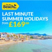 Last Minute Holidays & Deals from £169pp at on the Beach