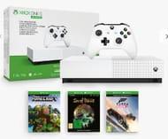 Xbox One S 1TB, Wireless Controller, Minecraft, Sea of Thieves & Forza Horizon 3