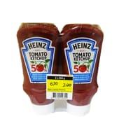 Heinz Less Sugar & Salt Tomato Ketchup 2 X 500ml