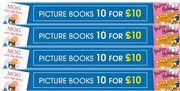 GOING CHEAP! Kids Picture Books - 10 for £10!