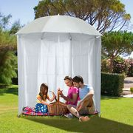 Bargain! Outsunny 2.2M Outdoor Parasol Fishing Umbrella Beach Sun Shelter at Ebay