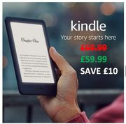 £10 OFF - All-new AMAZON KINDLE - Now with a built-in front light