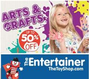 Up to 50% off ARTS & CRAFTS & CREATIVE PLAY TOYS