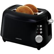 Cookworks 2 Slice Toaster - Black By