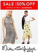 MISS SELFRIDGE SALE - on NOW - up to 50% Off