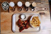 Brew Dog Beer Tasting with 4 Beers & Chicken Wings & Fries £10 - 20 Locations