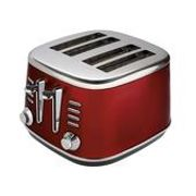 Morrisons Metallic 4 Slice Toaster 4 or 5 Colours & Matching Kettles each