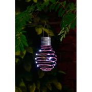 Mini Solar Spiral Lantern - Pink