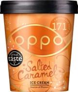 Salted Caramel Ice Cream (171 Calories per Half Tub)