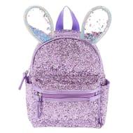 Bella the Bunny Glitter Mini Backpack - Lilac Purple
