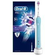 Oral-B Pro 600 White & Clean Rechargeable Electric Toothbrush