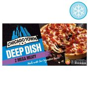 Chicago Town 2 Deep Dish Mega Meaty Pizzas 320G