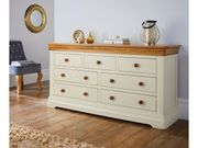 Farmhouse County Oak Chest of Drawers
