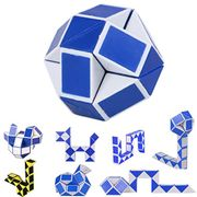 Twist Puzzle,Mitlfuny Snake Speed Cube 24 Parts 3D Puzzle Fidget Cube Toy