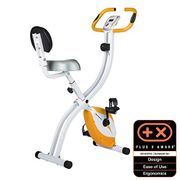 Ultrasport F-Bike Advanced Bicycle Trainer with Training Computer,Collapsible