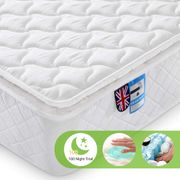 Lv. Life 4FT6 Double 9-Zone Memory Foam Mattress with Pocket Springs -