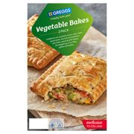 Greggs 2 Vegetable Bakes