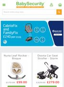 £25 off Orders over £450 at Baby Security