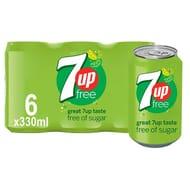 7 up Diet 6 X 330 Ml