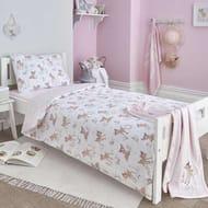 Disney Bambi Cot Bed Duvet Cover and Pillowcase Set