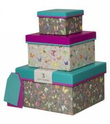 Amelie Butterfly Nested Gift Boxes (Pack of 3)