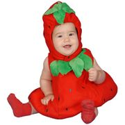 Cute Baby Strawberry Costume (12-24 Months)