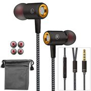Wired Earbuds Noise Isolating Headset with Microphone - HALF PRICE
