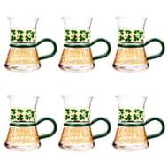 Set of 6 Tea / Coffee Espresso Mugs