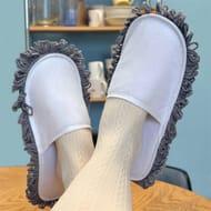 Dust Mop Slippers