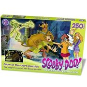 Scooby-Doo Glow in the Dark Puzzle - the Slippery Case of the Slime Mutant