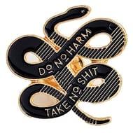 Tfan JaneDream Women Bohemian Snake Brooch