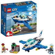 LEGO City Police Sky Police Jet Patrol Playset, Minifigures and Accessories