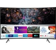 "*SAVE £250* Samsung 55"" Curved Smart 4K Ultra HD TV with HDR10+, Apple TV"