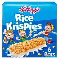 Kellogg's Rice Krispies Cereal Milk Bars 6X20g