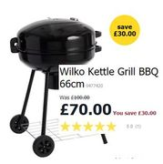 Need a Big One? This is a Whopper! Wilko Kettle Grill BBQ Black 66cm