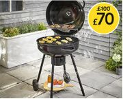 This is a Whopper! Wilko Kettle Grill BBQ 66cm