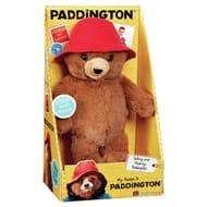 Paddington Bear Talking 21cm Tall Soft Toy £4.99