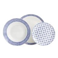 Wilko 12 Piece Mediterranean Style Dinner Set