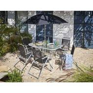 *SAVE £40* Wilko Rectangle Garden Dining Set 8pc