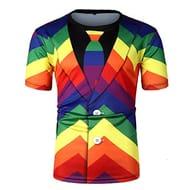 Rainbow Suit T-Shirt
