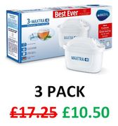 SAVE £6.75. BRITA MAXTRA+ Cartridges (3 Pack) PRIME EXCLUSIVE