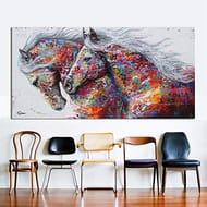 Running Horse Painting 60cm X 120cm