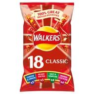 Walkers Classic Variety Crisps 18 X 25G - HALF PRICE