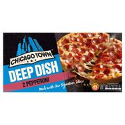 Chicago Town Deep Dish Pizza 2 X 160g (320g) - All Varieties 85p