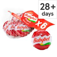Mini Babybel Full Fat Soft Cheese 120G