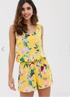 Vero Moda Tropical Printed Cami Playsuit