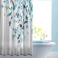 Papilio Navy Shower Curtain