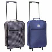 Cabin Carry-on Hand Luggage Suitcase 55cm Approved Ryanair Trolley Case Bag
