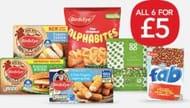 Co Op Birds Eye Frozen Meal Deal £5.00/£4.50 NUS
